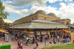 Dziejowy centrum miasta Edirne indyk fotografia royalty free