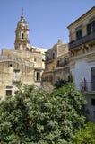 Dziejowy centrum miasta odrobiny w Sicily, Włochy jest UNESCO światowego dziedzictwa miejscem Obrazy Stock