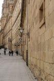 Dziejowy centrum Salamanca, Castilla y Leon, Hiszpania Zdjęcie Stock