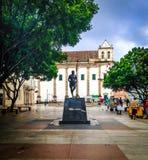 Dziejowy centrum Salvador Obrazy Royalty Free