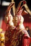 Dziejowy chińczyk odziewa Obrazy Royalty Free