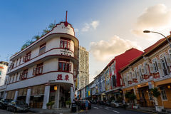Dziejowy Chinatown punkt zwrotny Fotografia Stock