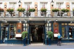 Dziejowy Cukierniany Procope Ja jest starym restauracją Paryż w ciągłej operaci Obrazy Royalty Free
