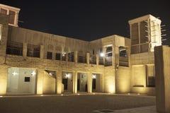 Dziejowy Dubaj dom Obrazy Royalty Free