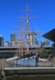 Dziejowy żeglowanie statek Melbourne Australia Zdjęcia Stock