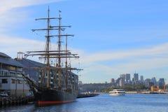Dziejowy żeglowanie statek Sydney Australia Obrazy Stock