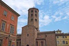 dziejowy Emilia kościelny romagna Italy Obrazy Stock