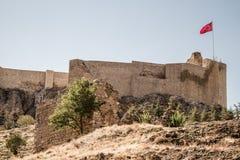 Dziejowy Harput kasztel w Elazig, Turcja Zdjęcia Royalty Free