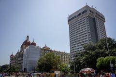 Dziejowy Hotelowy Taj Stary i Nowy Zdjęcia Stock