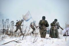 dziejowy ii wojskowego odbudowy wojny świat Obrazy Stock