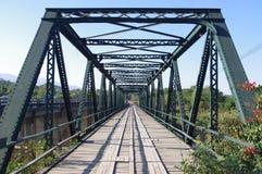 Dziejowy ironbridge Obraz Royalty Free