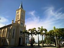 Dziejowy kościół w Quissama mieście, Rio De Janeiro Brazylia Obraz Royalty Free