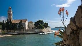 dziejowy kościelny Croatia Fotografia Royalty Free