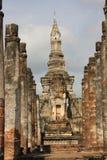 dziejowy mahathat parka sukhothai wat Zdjęcie Royalty Free