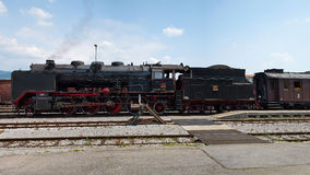 Dziejowy niemiec kontrpary pociąg 06-018 Zdjęcie Royalty Free