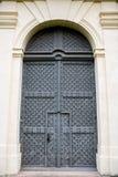 Dziejowy Ozdobny drzwi Obraz Stock