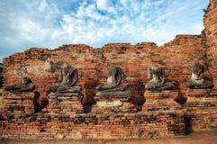 Dziejowy park, Ayutthaya prowincja, Tajlandia Obrazy Royalty Free