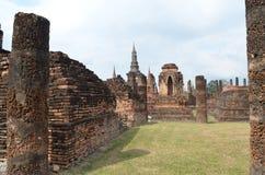 dziejowy parkowy sukhothai Thailand zdjęcia royalty free