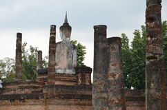 dziejowy parkowy sukhothai Thailand obrazy royalty free