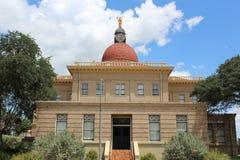 Dziejowy pszczoła okręgu administracyjnego gmach sądu Beeville Teksas Obraz Stock
