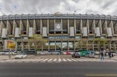 Dziejowy Santiago Bernabeu, Madryt, Hiszpania zdjęcie royalty free