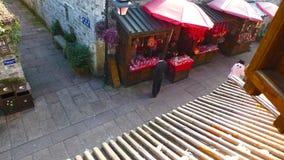 Dziejowy Stary miasto Ningbo, Chiny zdjęcie royalty free