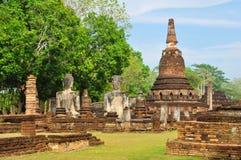 Dziejowy Sukhothai antyczny Park Zdjęcie Stock