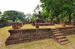 Dziejowy Sukhothai antyczny Park Obraz Royalty Free