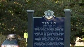 Dziejowy Weston znak zdjęcie wideo