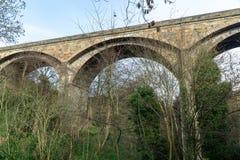 Dziekan wioski most obrazy stock