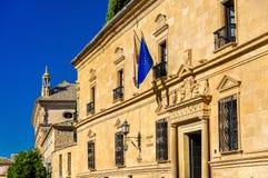 Dziekanu Ortega pałac w Ubeda, Hiszpania fotografia royalty free