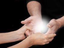 Dzielić Energetycznego doświadczenie zdjęcie royalty free