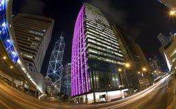 dzielnica biznesu Hong kong Obrazy Royalty Free