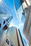 dzielnica biznesu Singapore drapacz chmur Zdjęcie Stock