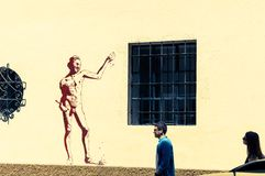 Dzielnica Soho, Malaga obrazy royalty free