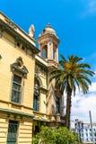 Dzielnicowy theatre Oran w Algieria obraz stock