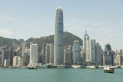 dzielnicy biznesu Hong kong Zdjęcia Stock