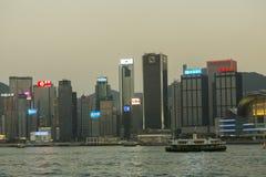 dzielnicy biznesu Hong kong Fotografia Stock