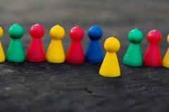 dzielny koncepcji przywódcy ludzi Zdjęcie Stock