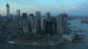 Dzienna Manhattan antena zbiory