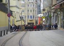 Dzienna modlitwa istanbul fotografia royalty free