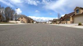 Dzienna przejażdżka przez sąsiedztwa zdjęcie wideo