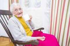 Dzienne pigułki dla starsi ludzi Obraz Royalty Free