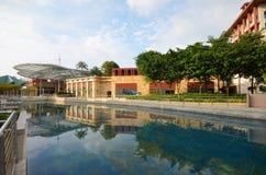 Dzienni nabrzeży studia Singapur Obraz Royalty Free