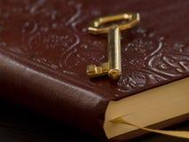 dzienniczka klucz Zdjęcie Royalty Free
