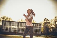 Dzienny ćwiczyć Sport kobieta fotografia stock