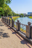 Dzienny pejzaż miejski Zdjęcie Royalty Free