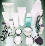 Dzienny, piękno opieki kosmetyk Odgórny widok obraz stock