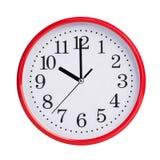 Dziesięć godzin na round tarczy zdjęcie royalty free