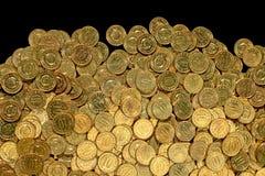 dziesięć monet Fotografia Stock